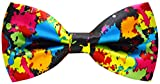 Carahere Mens Handmade Stylish Patterned Pre-Tied Bow Ties M126 4R