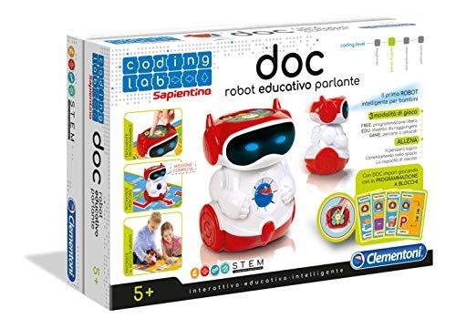 Clementoni- Doc Sapientino Robottino Educativo, Colore Versione in Italiano, 11112
