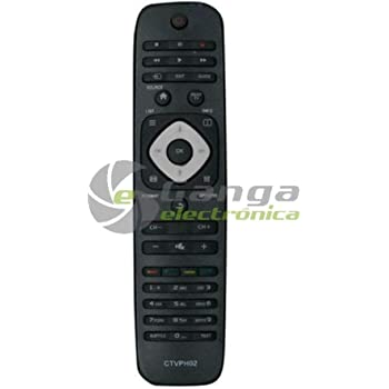Desconocido Mando A Distancia CTVPH02 Compatible con TV Philips NO ...