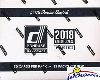 2018 panini donruss baseball