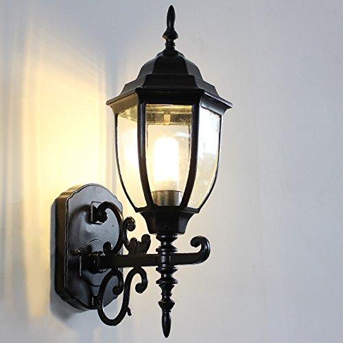 YU-K Applique murale minimaliste mur mur extérieur personnalisé feux feux de balcon patio extérieur étanche lumière lampe murale à LED, 28