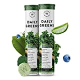 Wellbeing Nutrition Daily Greens, Wholefood Multivitamin with Vitamin C, Zinc, B6, B12