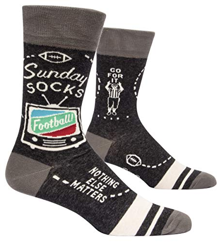 Sunday Socks. Football - Nothing Else Matters - Soft Combed Cotton Socks - Men's Crew