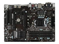 Socket LGA 1151 for Intel 6th Generation Core/Pentium/Celeron processors Intel Z170 chipset 2 USB 3.1 Gen2, 6 USB3.1 Gen1 (aka USB 3.0) and 4 USB2.0 ATX 2 PCI-E 3.0 x16, 3 PCI-E x1 and 2 PCI CrossFire ready OC Genie 4 Live Update 6