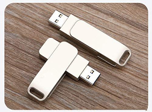 rotante U disk 2.0 3.0 ad alta velocità lettura e scrittura unità flash USB in lega impermeabile U disk