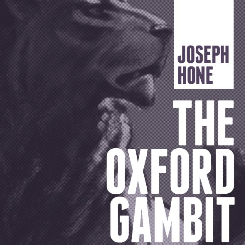 The Oxford Gambit audiobook cover art