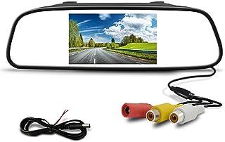 $25 » 4.3 inch Screen TFT LCD Color Display Parking Rear Car Mirror HD Car Monitor for Rear View Camera Night Vision Reversing