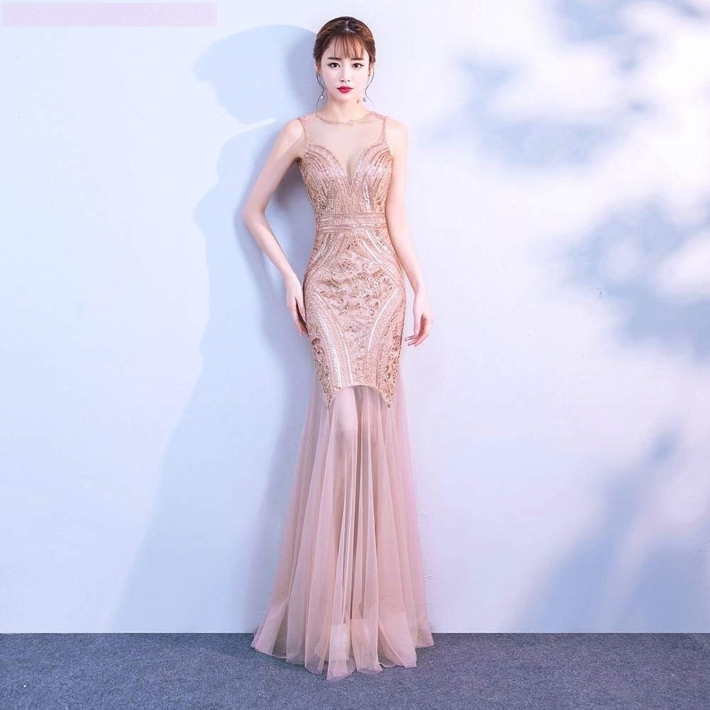 blueeberryMoon Robe De Soiree Sequins Beading Evening Dresses Mermaid Long Formal Prom Party Dress 2019