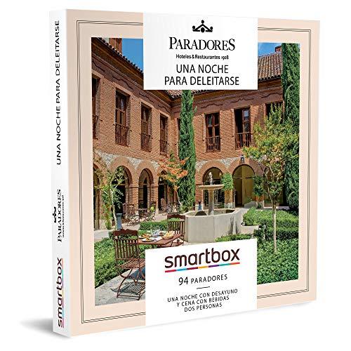 Smartbox - Caja Regalo Amor para Parejas - Paradores: Una Noche para deleitarse - Ideas Regalos Originales - 1 Noche con Desayuno y Cena con Bebidas para 2 Personas