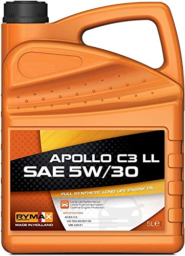 Rymax Apollo C3 Long Life SAE 5W-30 - Vol synthetische motorolie | 5L