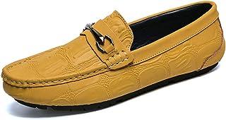 Mocasines De Barco Plano con Estilo Antideslizante Suave Ligero Ligero Zapatos Drving