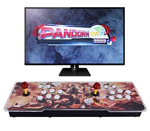 OneV FT [3333 Giochi in 1 Pandora Treasure WiFi Arcade Console 11S Full HD Retro videogioco 3D Pandora s Box con 3333 giochi retrò per PC   Laptop   TV   PS3