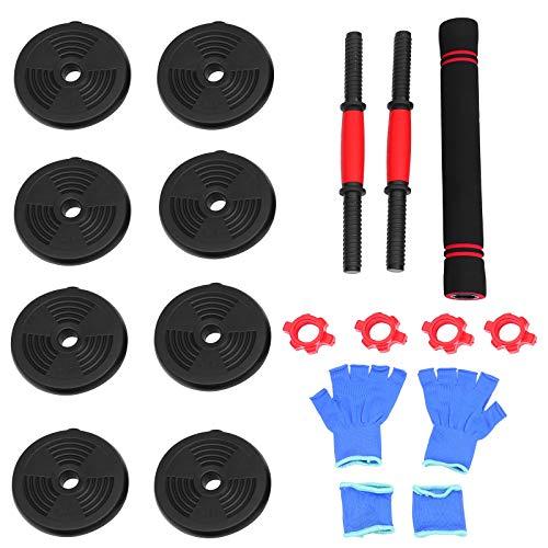 Abaodam 1 juego de mancuernas de fitness ajustable con mancuernas prácticas, entrenador muscular