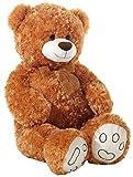 Heunec Oso, Curly-Peluche, Peluche, Peluche Gigante, 100 cm, Colour marrón