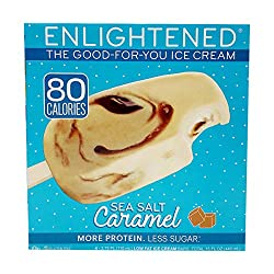 Enlightened, Sea Salt Caramel Ice Cream Bar, 15 fl oz (Frozen)