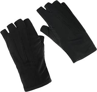 171d7cd2d0db6a Sommer Halbfinger Handschuhe Baumwolle Fahrradhandschuhe Kurz  Spitzenhandschuhe Anti-Rutsch, Anti-UV Schutz,