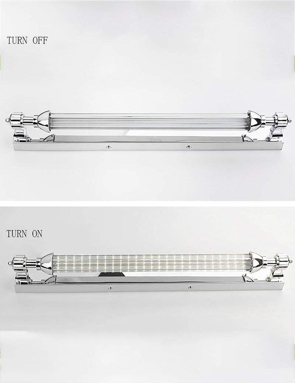 Hauptbadezimmer-Spiegel-Scheinwerfer führten Edelstahl-Wasserdichten Rost-Spiegel-Front-Licht-einfache Moderne Badezimmer-Spiegel-vordere Glühlampe, die eingeschlossen wurden, Spiegel-Scheinwerfe