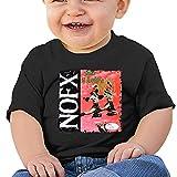 Opahxa5 linda camiseta de bebé Baby NOFX-Punk in Drublic Camiseta de algodón de manga corta para bebé gráfico niños y niñas