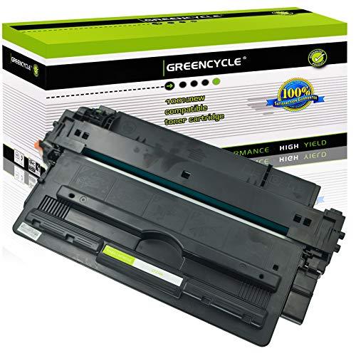 GREENCYCLE 14A CF214A Black Toner Cartridge Replacement Compatible for Laserjet Enterprise 700 M712dn 700 M712xh 700 MFP M725f Printer