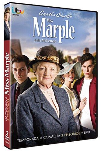 Miss Marple: Misterio en el Caribe + La Locura de Greenshaw + Noche Eterna - Temporada 6 Completa 2013 [DVD]