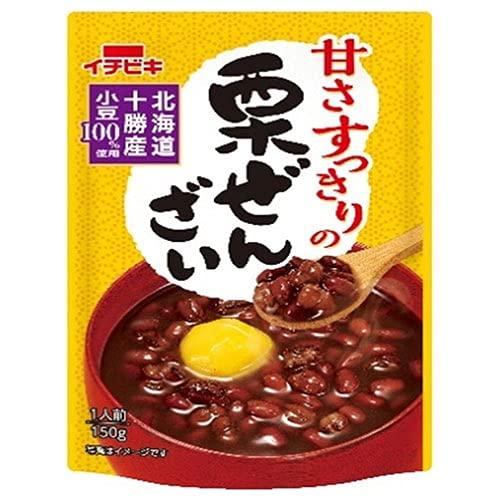イチビキ 甘さすっきりの栗ぜんざい 150g×20(10×2)袋入