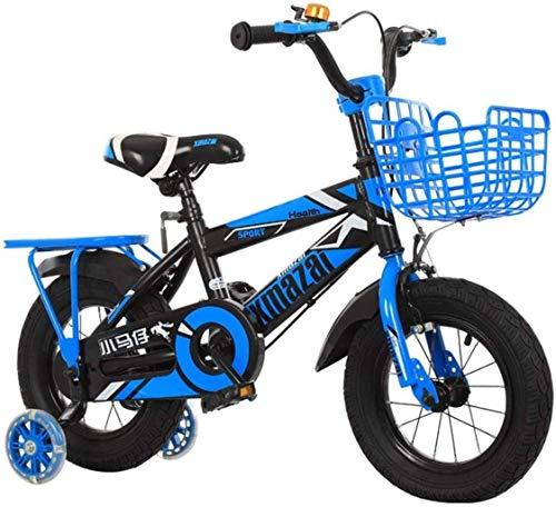 MJY Bicicleta para niños 'S Bike Cycling Kid' S con acero protector de seguridad 12/14 pulgadas Bicicletas para niños Bicicleta para niños y bicicletas para niñas 6-11,12 pulgadas