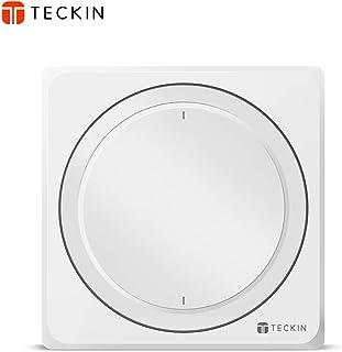 TECKIN Interruptores Inteligentes de paredcompatibles con AlexaGoogle Home Interruptores WiFi Inteligentes con control remoto y de vozAjuste del Temporizador No Se Sequiere Hub.