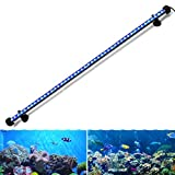 GreenSun LED Lighting 78cm 9.8W LED Aquarium Light, Submersible Fish Tank Light, Blue