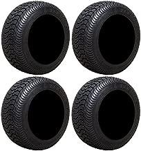 Full set of Arisun Cruze AT21 205x50-10 (4ply) DOT Golf Cart Tires (4)