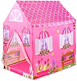 Ambeworld Doll House Jumbo Size Extremely Light Weight , Water and Fire Proof Kids Play Tent House for 10 Year Old Girls and Boys (Doll House)