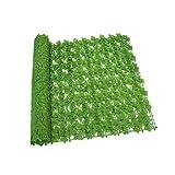 Gartenzaun aus künstlichem Blatt,Zaunschutz-Sichtschutzwand, künstlicher...