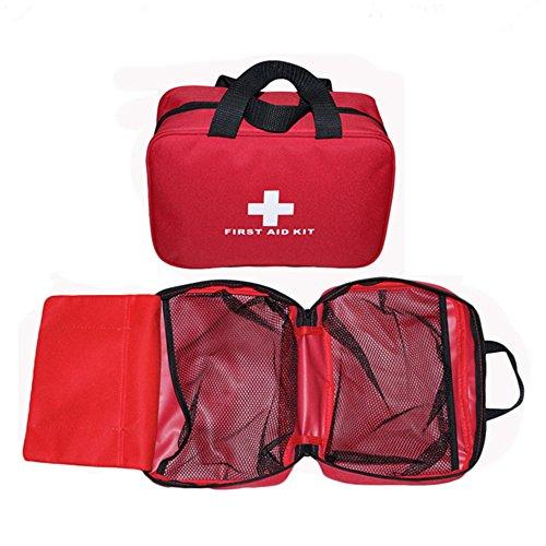 OnePine Erste-Hilfe-Tasche mit Reißverschluss,wasserdichte kompakte Tasche,(Aufbewahrungstasche, Keine Erste-Hilfe-Lieferungen)
