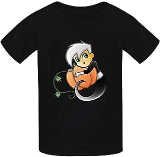 Doug-las Danny Phantom Children's Short-Sleeved Boys and Girls T-Shirts