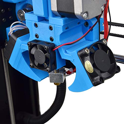 HAWKUNG 2 Stück 3D Drucker Lüfter DC 12V 4010 40 x 40 x 10 mm DC 12V 2 Pin Brushless Lärmarmer Kühlkühler Ventilator für DIY 3D Drucker Extruder Hotend