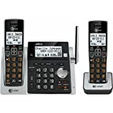 AT&T CL83213 DECT 6.0 Two Handset Cordless Phone with Digital Answering System