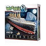 Wrebbit 3D Puzzle- Wrebbit 3D Titanic Puzzle de 440 Piezas