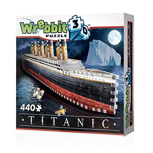 Wrebbit 3D Puzzle Titanic Brettspiel