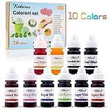 Seifenfarbe Set 10 farben- Lebensmittelqualität Seifenfarben Färbende Farbe Pigment für die...