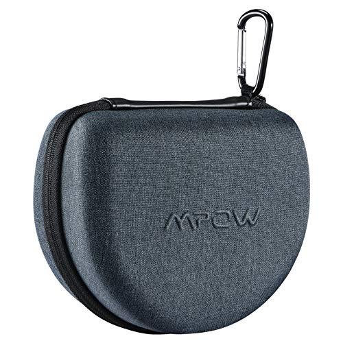 Mpow Kopfhörer Tasche für Mpow 059, H12, H18, H5, H10, H21, H19 und Weitere Faltbare Kopfhörer Anderer Marken, Tragbare Reisetasche für Over-Ear On-Ear Kopfhörer