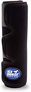 Ice Horse Single Tendon Leg Wrap for Equine Therapy - Comes with 2 Ice Packs