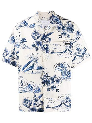 Prada Luxury Fashion Herren UCS339S2011VY2F0124 Multicolour Baumwolle Hemd | Frühling Sommer 20