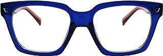 Retro Nerd Geek Oversized Eye Glasses Horn Rim Framed...