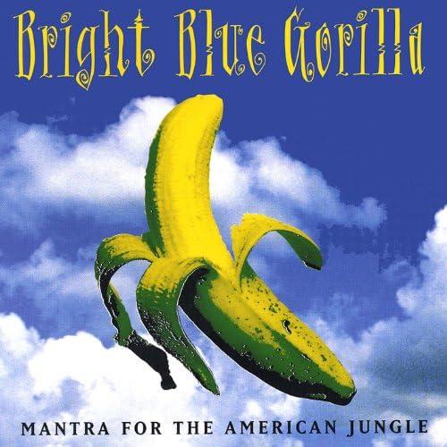Bright Blue Gorilla