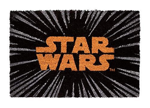 ERIK - Felpudo entrada casa Logo Star Wars (40 x 60 cm)
