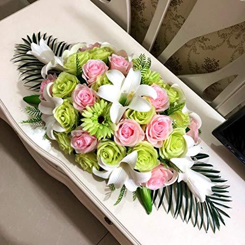 Dekorative Künstliche Blumen, Business-Etikette Konferenztische Seidenblumen, Tischdekoration Blumen, Dekorative Künstliche Gemischte...