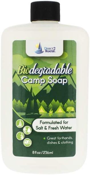 Direct Miami Mall 2 Boater Dallas Mall Biodegradable Camp Soap Pack 8 oz Fresh for