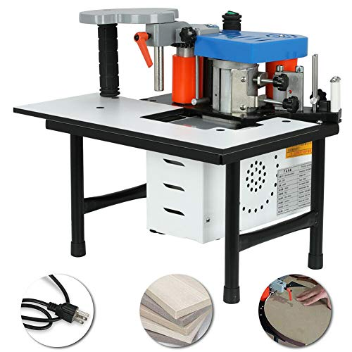 professional 110V 7-60mm Portable Double Glue Woodworking Edging Tape Processing Machine Edge Banding Machine