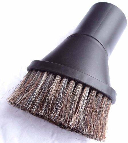 Pennello Polvere in setole naturali manopola appropriato all' Aspirapolvere e un rotolo di sacchetti pattumiera 16L