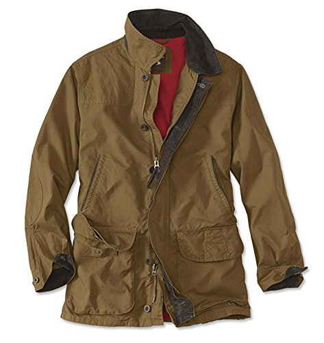 Orvis Men's Heritage Field Coat, Tobacco, Large