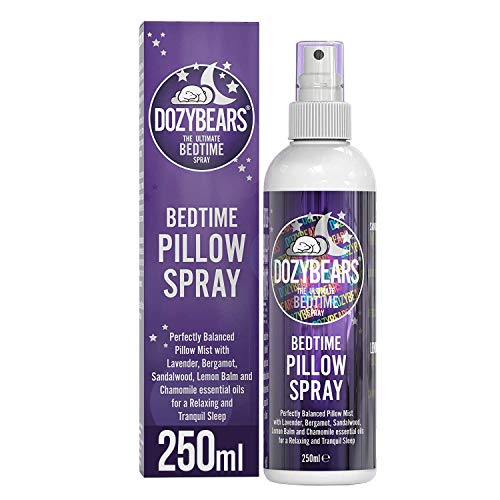 DOZYBEARS The Ultimate Bedtime Pillow Spray 250ml | Calming and Relaxing...